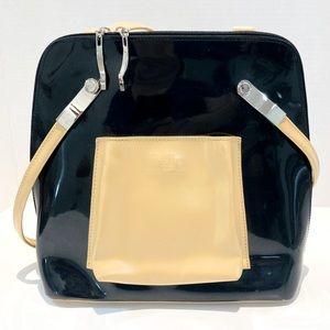 Beijo Black and Tan backpack-bag